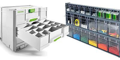Sortimentskasten & Sortainer für Kleinteile