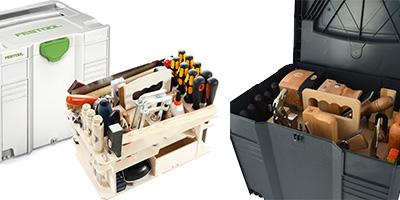 Werkzeugkoffer & Systainer mit Handwerkzeugen