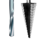 Bohrer für Alu, PVC & Stahl