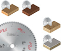 Querschnitt Massivholz & Holzverbundstoffe - fein