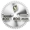 Kreissägeblatt <br/>Ø 400 - 800