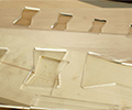NEU - Schablone für Schwalbenschwänze