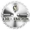 Kreissägeblatt <br/>Ø 130 - 160