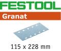 115 x 228 mm - Granat