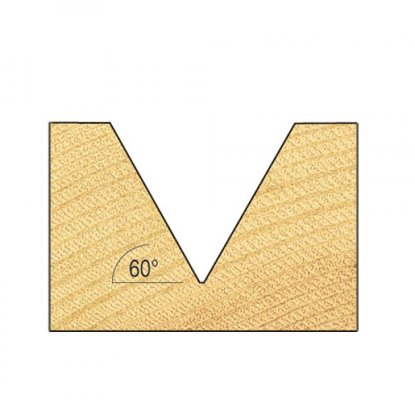 Fase- und V-Nutfräser HM