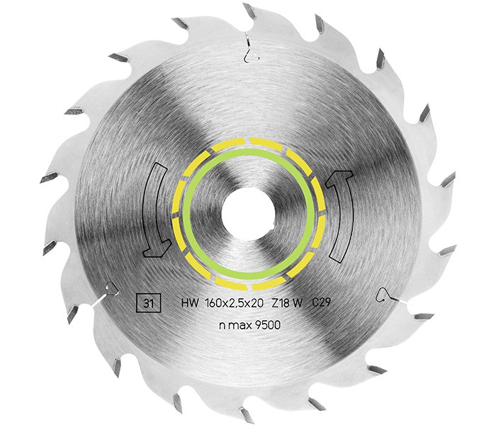 Kreissägeblatt HW 350x3,5x30 W24